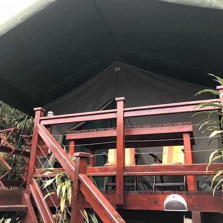 Glamping stay