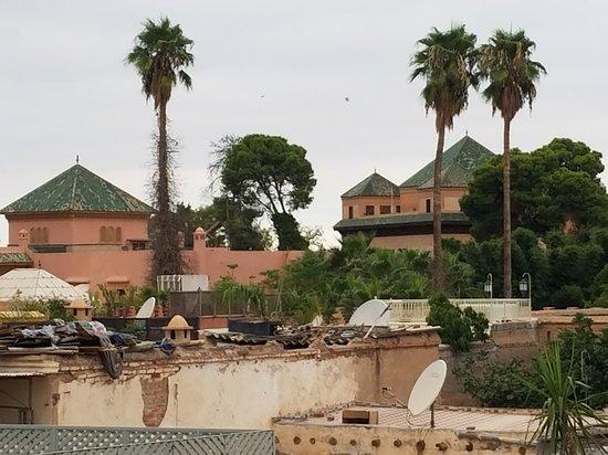 Riad Anjar: View from terrace