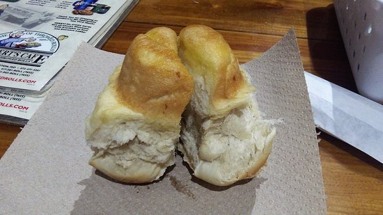 Lambert's Cafe: My Throwed Roll at Lamberts.