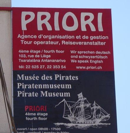 Piratenmuseum in Antananarivo