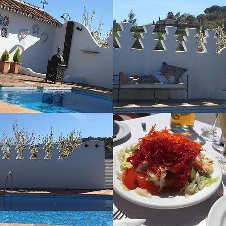 Villanueva del Rosario, España: pool collage