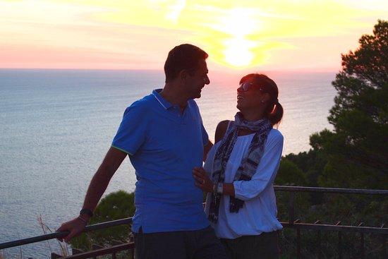 Hotel La Tosca: belvedere della Migliera