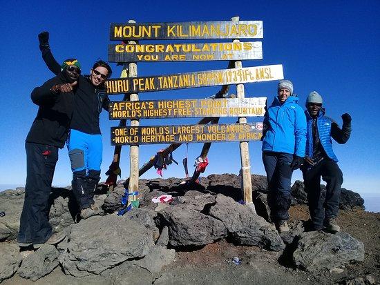 Frozen Peak Adventures: The Roof Of Africa(Uhuru Peak)