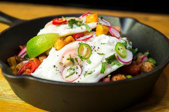 The Street Food Chef: chorizo hash