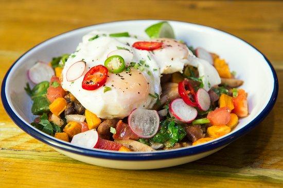 The Street Food Chef: vegi hash