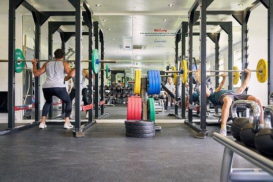 Lanivet, UK: gym