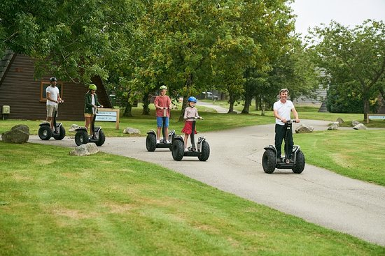 Lanivet, UK: segway