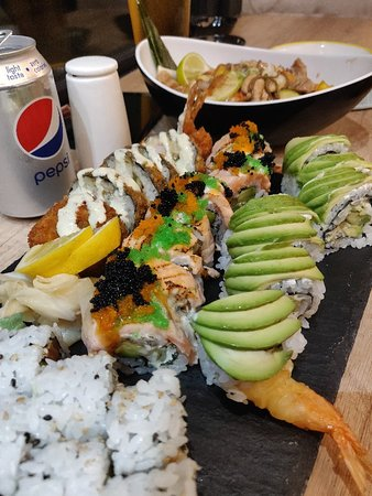 Really good sushi!