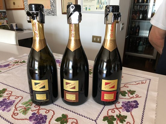 Ca'Salina still and sparking wines: The 3 prosecco taste