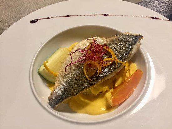 Gimont, Frankreich: Un pescado riquísimo.