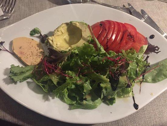Gimont, Frankreich: Ensalada