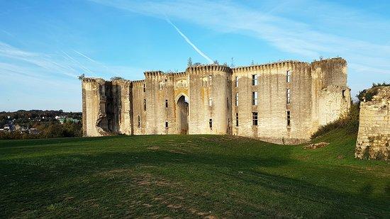 La Ferte-Milon, Francja: première vue sur le château