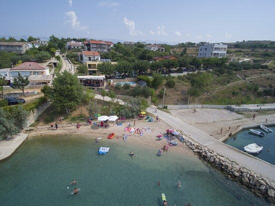 Razanac, Kroatien: Camping Odmoree Beach