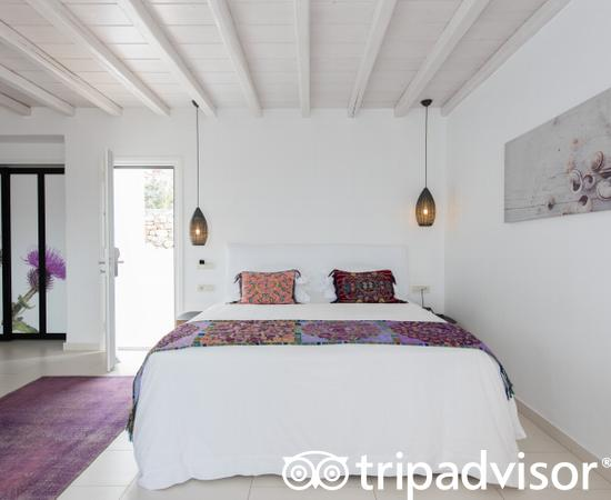 The Exclusive Guest Room with Jacuzzi at the Myconian Villa Collection
