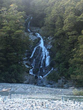 West Coast Region, Nowa Zelandia: Fantail Falls