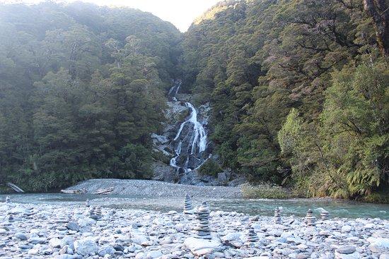 West Coast Region, Nueva Zelanda: Fantail Falls