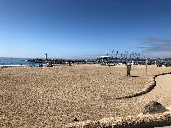 Santa Cruz Harbor Beach