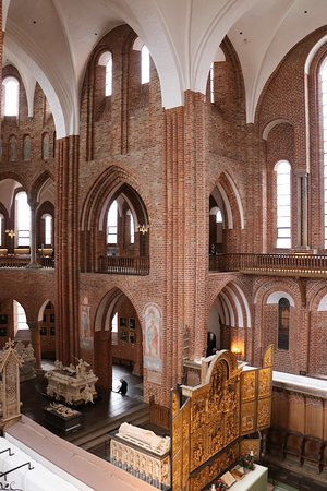Catedral de Roskilde: view from the second floor