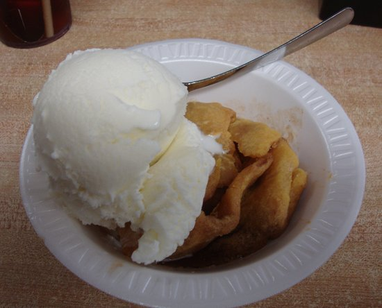 Franklin, WV: Thy the apple dessert to end your meal!