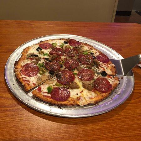 Cauliflower Crust Pizza...oh my!