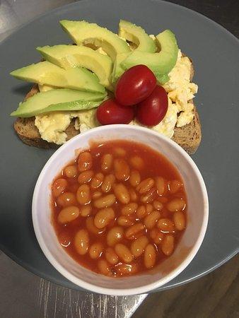 Cafe Harris: Breakfast option for Vegetarians