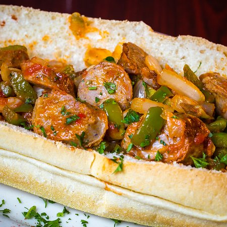 Indian Harbour Beach, FL: Sausage and Peppers Sub!
