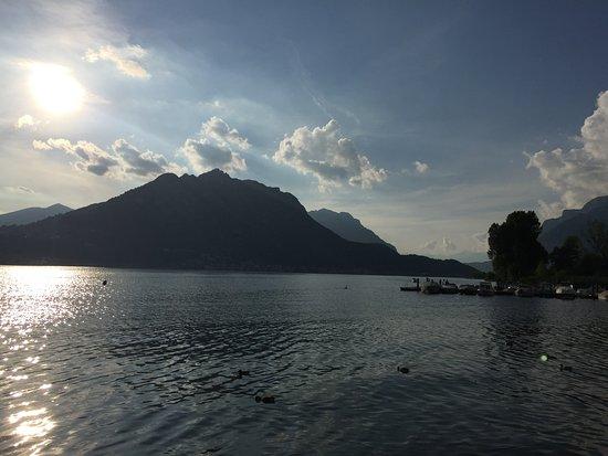 Vercurago, Taliansko: Scorcio del lago