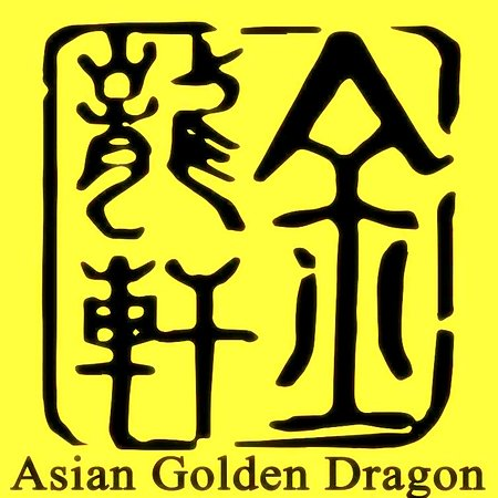 Asian Golden Dragon