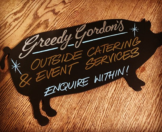 We cater outside of the Lion too!