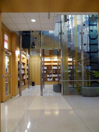 Oak Park Public Library: a corner