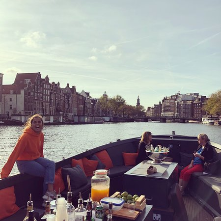 Фотография 75min Salon Boat Cruise - Incl. drinks & Dutch cheese - departure @Homomonument
