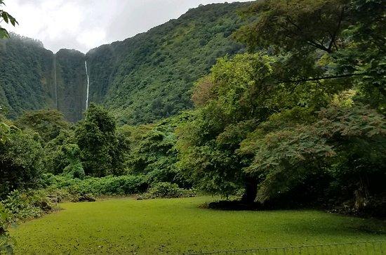 Kukuihaele, HI: The three falls in the Waipio Valley