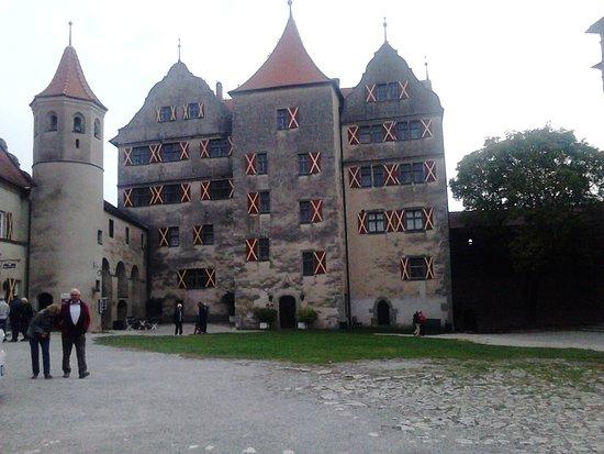 Harburg, Jerman: L'intérieur de la cour