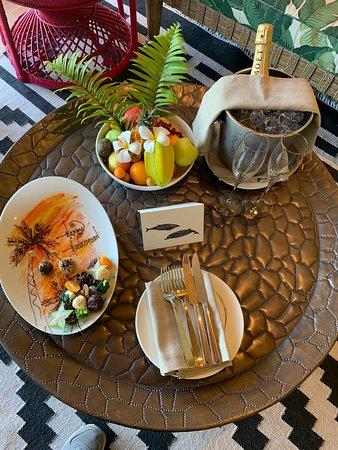 Desroches Island, سيشيل: Honeymoon welcome