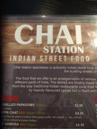 Chai Station - Vegetarian Indian: IMG_20181020_193058770_large.jpg