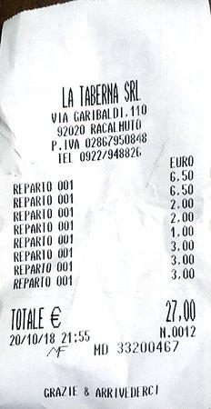Racalmuto, Italien: Conto