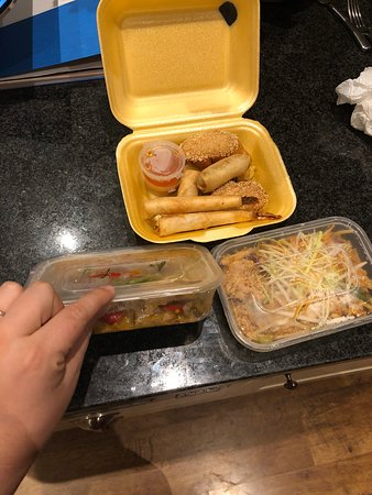Smallest takeaway portions in history