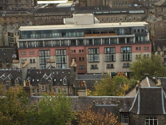 Hotel From Edinburgh Castle