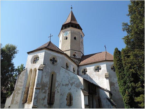 Prejmer, Rumänien: L'église.