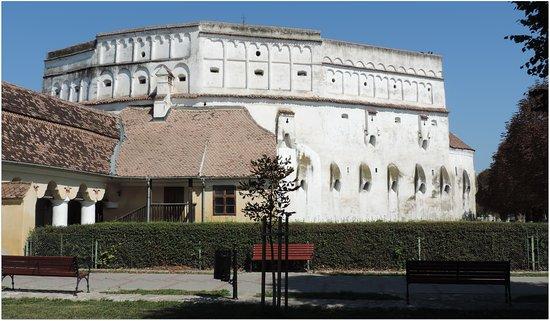 Prejmer, Rumänien: Muraille de la citadelle.