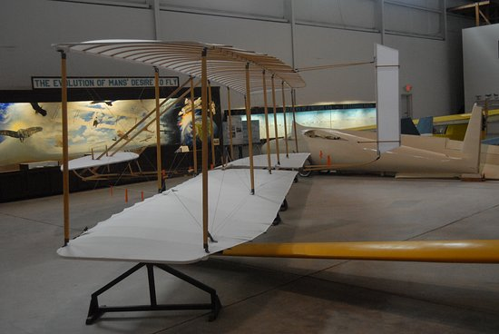 Moriarty, NM: Replica of the Wright's glider