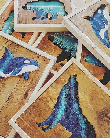 Blue Poppy: Local art by West Coast Kitsch