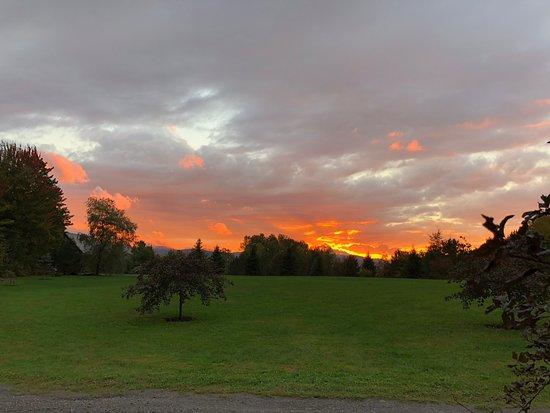 Montgomery Center, VT: Gorgeous sunsets!
