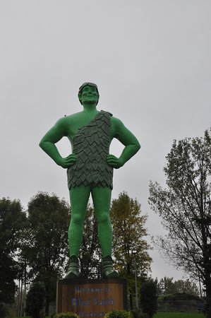 Blue Earth, MN: Jolly Green Giant