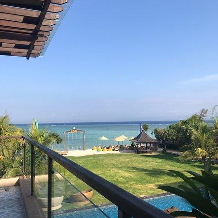 Balcony - Adiwana d'Nusa Beach Club and Resort Photo