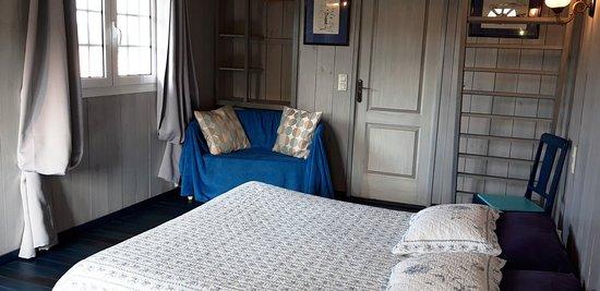 Chambre JULIA -lit double 160 - jolie mezzanine appréciée des ...