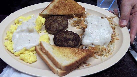 Ellsinore, MO: Our breakfast at Saso's