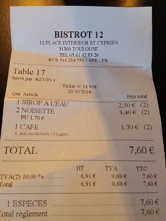 Bistrot 12