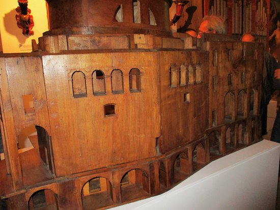 Campertogno, Włochy: Museo di arti sacre: modello ligneo del Guarini