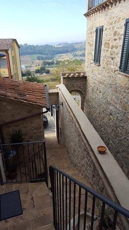 Ripa, Italie : Vista dalla porta della stanza
